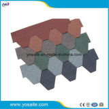 De kleurrijke Versterkte Glasvezel van de Dakspaan van het Dakwerk van het Asfalt