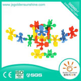 Giocattolo di plastica del mattone della costruzione dei bambini con il certificato di CE/ISO