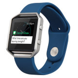 ベストセラーのシリコーンは様式の時計バンド、Fitbitの炎のための適用範囲が広いシリコーンの腕時計バンドを遊ばす