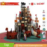 Парк HD17-135A детей корабля пирата занятности спортивной площадки детсада напольный опирающийся на определённую тему