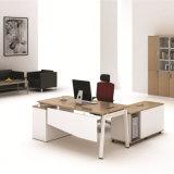 Base de metal mesa de escritório com armário LATERAL LAMINADO