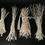 木の幹の藤のリード枝枝編み細工品