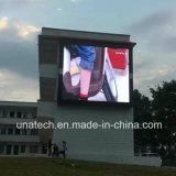 P10mm che fa pubblicità allo schermo di visualizzazione esterno di alta risoluzione del LED di colore completo di ventilazione IP65