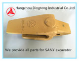 O melhores adaptador do dente da cubeta das peças sobresselentes da qualidade/suporte Sy 75.3.4.1 - 10 no. 12076804 para a máquina escavadora Sy60 de Sany, Sy65, Sy75, Sy95