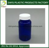 bouteilles en plastique bleues de l'animal familier 180ml