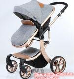 Aluminiumlegierung-Rahmen-Material und elastisches Gewebe-materieller Baby-Spaziergänger