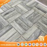 """1""""x2"""" de la familia de color gris mosaico de vidrio ladrillo de madera de esmalte (V639004)"""