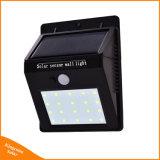 20 lampadina del sensore separabile di movimento del comitato solare PIR del LED 3 per l'indicatore luminoso Emergency esterno & dell'interno dell'iarda del giardino di notte