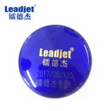 Máquina de marcado Industrial Leadjet Coder impresora láser de fibra para tapa de metal