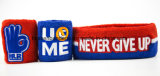 OEM de fábrica de producir algodón bordado Jacquard personalizados Terry Baloncesto sudor cintillos Set