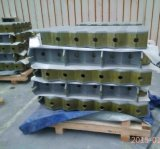 Ferro de carcaça Qt500 material que endireita a placa