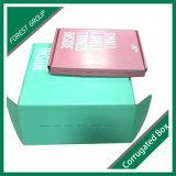 Caisse d'emballage pliable estampée polychrome d'expédition pour des chaussures
