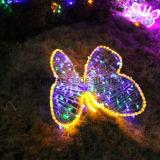 Indicatore luminoso della stringa della decorazione LED Butterflly degli indicatori luminosi di natale di Sydney del centro commerciale