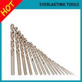 M35 morceaux de foret de l'acier à coupe rapide DIN338 pour le perçage en métal