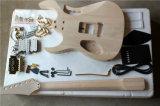 Hanhai/elektrische Gitarren-Installationssatz mit Goldbefestigungsteilen (Gitarre zerteilt DIY Gitarre)