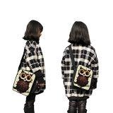 完全な印刷3Dの効果の子供のためのポリエステルによって絶縁される肩の昼食袋