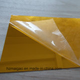 Hoja de aluminio con recubrimiento de color dorado