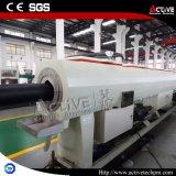 Линия штрангя-прессовани трубы PVC с твиновским винтом