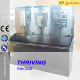 病院の医学のステンレス鋼は三人のための流しをごしごし洗う(THR-SS032)