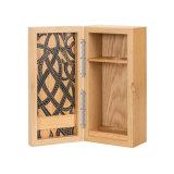 El lujo de alta calidad envases de madera sólida caja de vino tinto