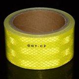 ماس درجة وضوح انعكاسيّة أمان شريط [دوت-ك2] (أصفر لاصفة)