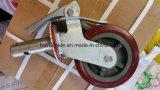 Рицинус твердого резиновый колеса колеса вагонетки сверхмощный для Китая