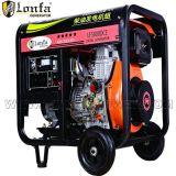 3kw luftgekühlter geöffneter Typ Dieselgenerator mit Griff und Rädern