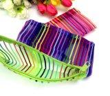 화장품은 투명한 나일론 메시 화장품 부대 다채로운 메이크업 부대 형식 저장 부대 아름다움 상자 선전용 선물을 자루에 넣는다
