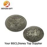 2 бортовых античных монетки возможности сувенира никеля
