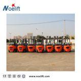 Benzin 2.5ton und LPG-Gabelstapler mit Langspielplatte-Gas Tankwith 4m Aufzug u. seitlicher Schiebung