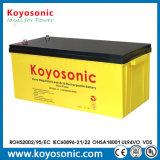 Étanche au plomb acide de batterie à cycle profond 12V 200Ah Batterie d'énergie solaire