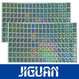 Brouillon auto-adhésif de Glod outre d'étiquette d'hologramme d'impression de numéro de garantie