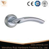 Хорошее качество алюминиевый рычаг ручки двери по Rosette (AL012-ZR05)
