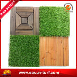 Easy DIYの庭のためのArtificial Interlocking Grass Matの美化
