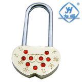 Couleur différente de mini coeur d'amour avec la clé et sans clé