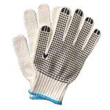 Puntos de PVC Guante de protección de la mano