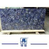 Lastra blu del granito di Azul Brasile Bahia per controsoffitti la decorazione dell'hotel/cucina/del granito/quarzo superiori della stanza da bagno/parti superiori di vanità