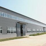 Taller de la estructura de acero de la luz de prefabricados para la fábrica.