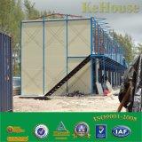 Zwischenlage-Panel-vorfabriziertes Haus für Familie oder Arbeiten in Afrika