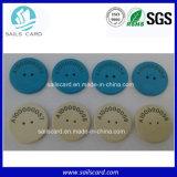 PPSの丸型RFIDは販売のためのLanudryの札を防水する