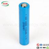 Batteria di ione di litio di Icr 14650 1100mAh 3.7V