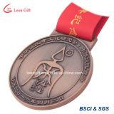 Levering voor doorverkoop van het Medaillon van het Goud/van het Zilver/van het Brons van de douane de Antieke
