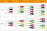 Cable de una sola pieza de Datascope ECG con los Leadwires