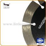 La nitidez de una buena herramienta de diamante de la hoja de corte de pared
