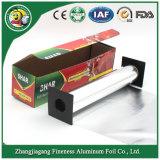 Prata e Heat-Resistance rolos de alumínio para uso doméstico com caixa Corrguated coloridos