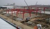 El bastidor de acero de construcción prefabricados con cinco vanos Continuou