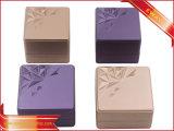 PU bague de couleur métallique Coffret à Bijoux Bijoux de la télécommande d'emballage