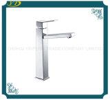 De haute élévation, trou unique en laiton sanitaires eau du robinet pour salle de bains