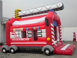 Camion de pompier, gonflable Bouncer Inflatable B1147
