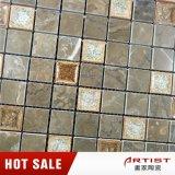 Kaffee-Farben-glatter Marmormosaik-Mischungs-Eis-Bruch-keramisches Mosaik